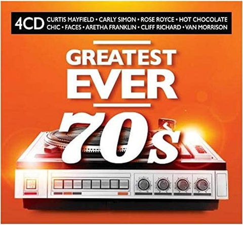 Various Artists Greatest Ever 70s 4CD 4050538606874