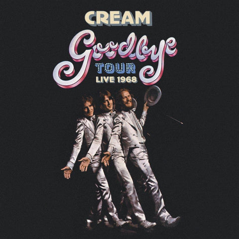 Cream Goodbye Tour - Live 1968 4CD Worldwide Shipping
