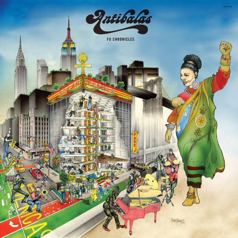 Antibalas Fu Chronicles 823134006010 Worldwide Shipping