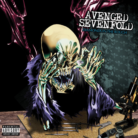 Avenged Sevenfold Diamonds In The Rough Limited 2LP