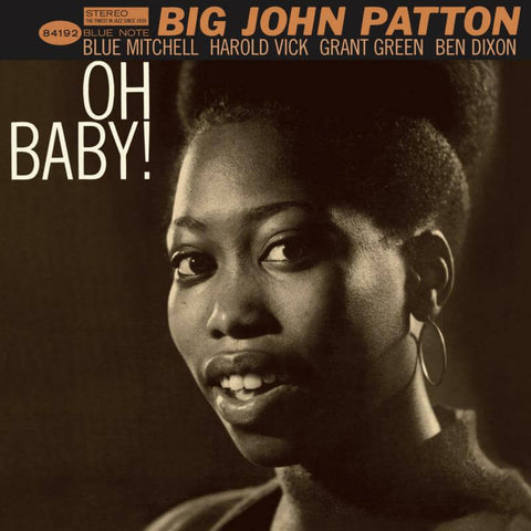 Big John Patton Oh Baby! Sister Ray