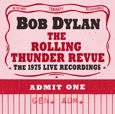 Bob Dylan The Rolling Thunder Revue CD Sister Ray