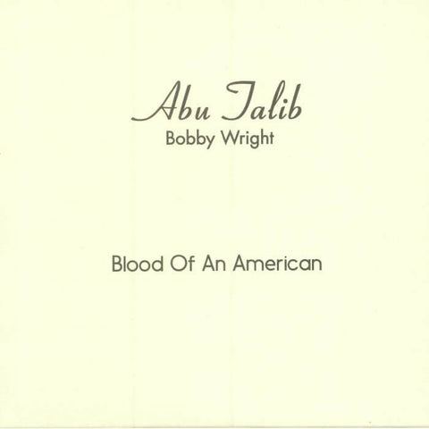 Bobby Wright Blood Of An American Sister Ray