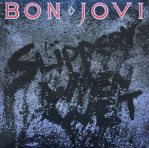 Bon Jovi Slippery When Wet LP 602547029218 Worldwide