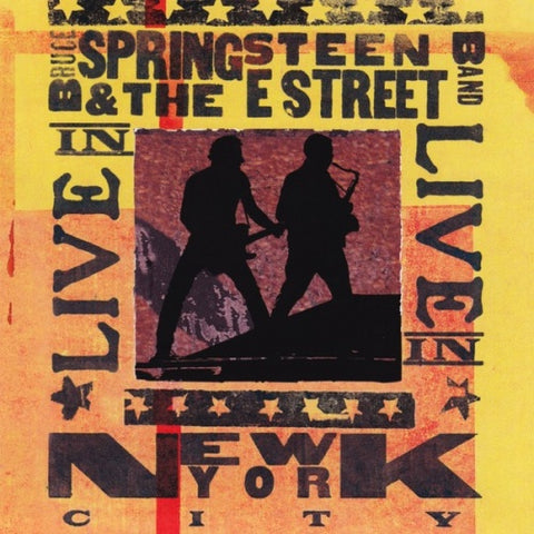 Bruce Springsteen Live In New York City 3LP 190759789513
