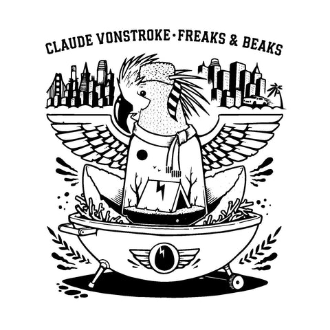 Claude VonStroke Freaks & Beaks 3LP 5060731221773 Worldwide