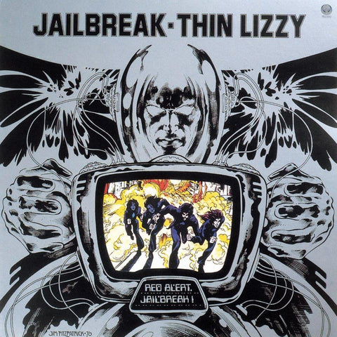 Thin Lizzy Jailbreak LP 0602508026317 Worldwide Shipping