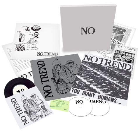 No Trend Too Many Humans / Teen Love Multiple Format Box Set