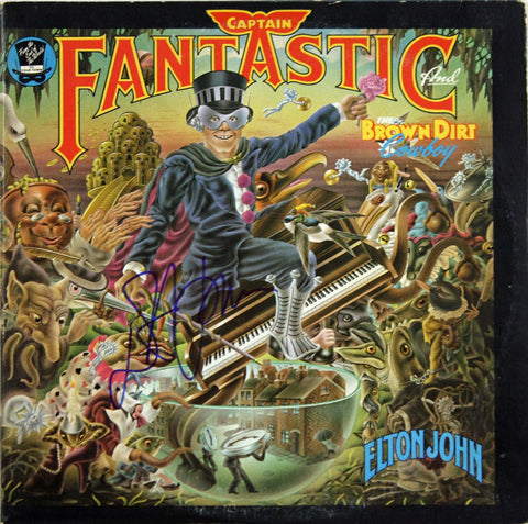 Elton John Captain Fantastic And The Brown Dirt Cowboy LP