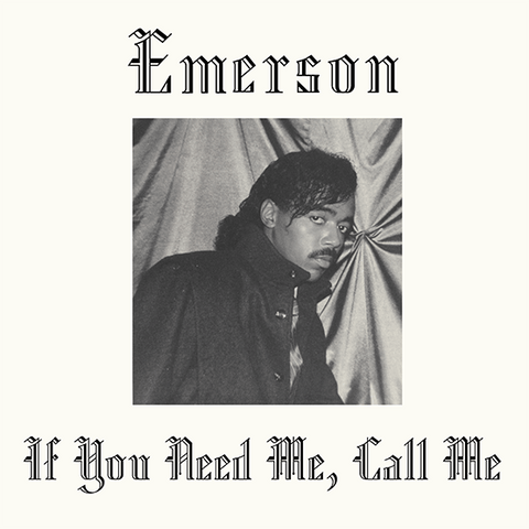 Emerson If You Need Me Call Me Sister Ray