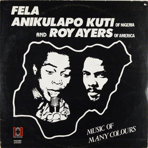 Fela Kuti & Roy Ayers Music Of Many Colours LP 0720841114314