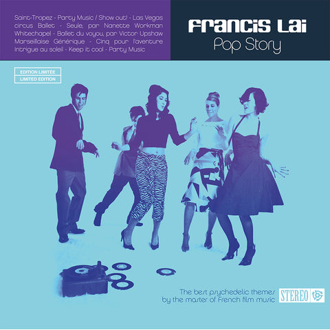 Francis Lai Pop Story LP 3700403513387 Worldwide Shipping
