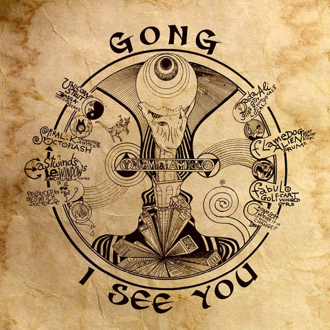 Gong I See You 2LP 0802644804613 Worldwide Shipping