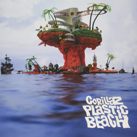 Gorillaz Plastic Beach 5099962616614 Worldwide Shipping