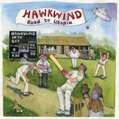 Hawkwind Road To Utopia LP 5013929173019 Worldwide Shipping