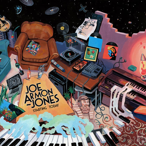Joe Armon-Jones Starting Today LP 5060180324216 Worldwide