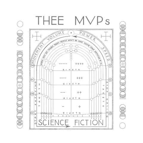 Thee MVPs Science Fiction 5060446124239 Worldwide Shipping