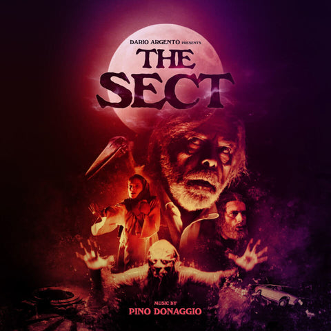 Pino Donaggio La Setta (The Sect) OST LP 5053760051824