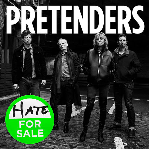 The Pretenders Hate For Sale 4050538603576 Worldwide