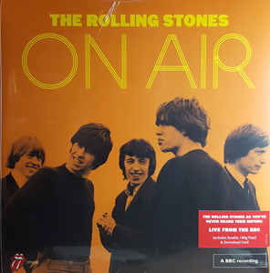 The Rolling Stones On Air 2LP 602557958287 Worldwide