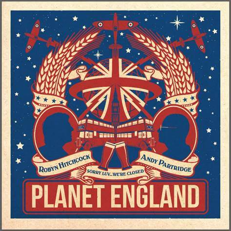 Robyn Hitchcock & Andy Partridge Planet England EP Sister Ray