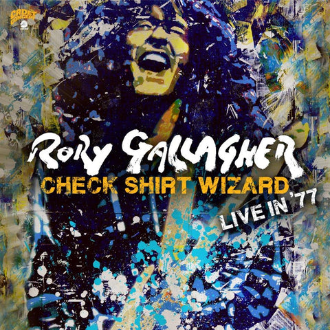 Rory Gallagher Check Shirt Wizard - Live in '77