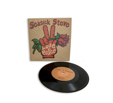"Seasick Steve Love & Peace [7""] [INDIE EXCLUSIVE] Limited 7"