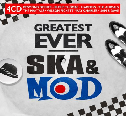 Various Artists GREATEST EVER SKA & MOD 4CD 4050538616040
