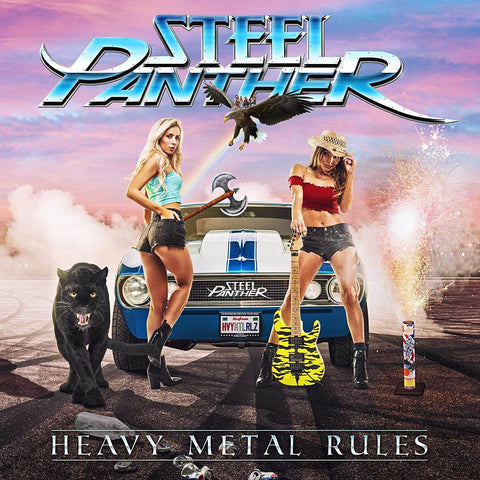 Steel Panther Heavy Metal Rules Sister Ray