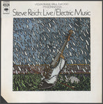 Steve Reich Live Electric Music Sister Ray