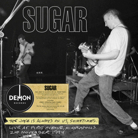 Sugar The Joke Is Always On Us Sometimes 2LP 5014797902176