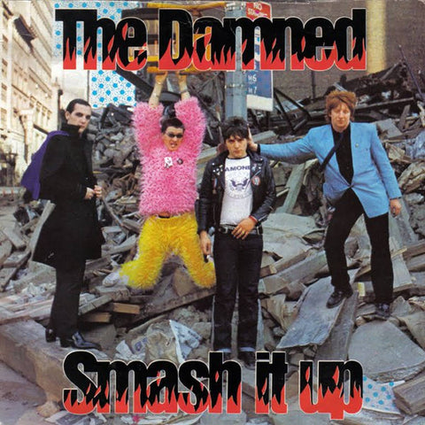 The Damned Smash It Up Limited 7 029667025775 Worldwide