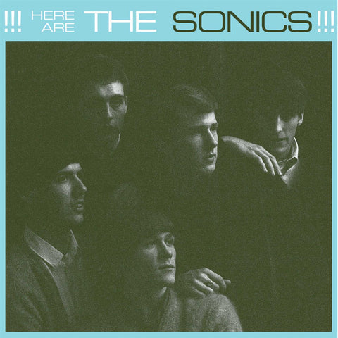 The Sonics Here Are The Sonics LP 029667010412 Worldwide