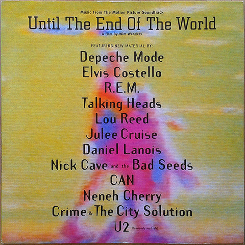Compilation Until The End Of The World OST Limited 2LP