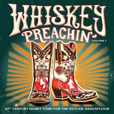 Various Artists Whiskey Preachin' Volume 1 LP 4015698939262