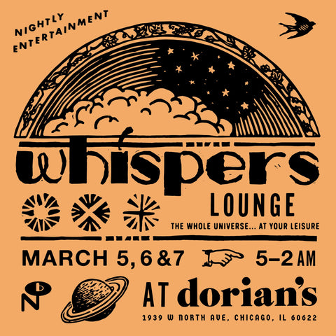 Various Artists Whisper Lounge LP 0825764110617 Worldwide