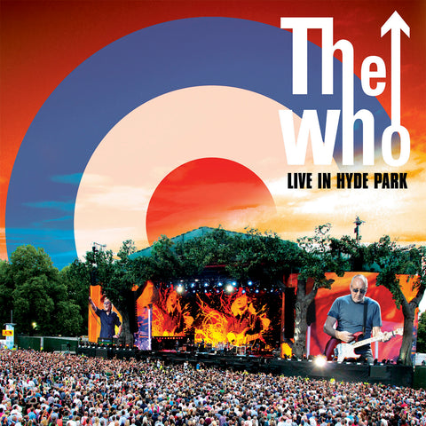 The Who Live In Hyde Park 3LP 00602508814426 Worldwide