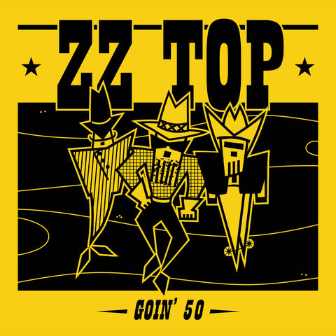 ZZ Top Goin' 50 Sister Ray