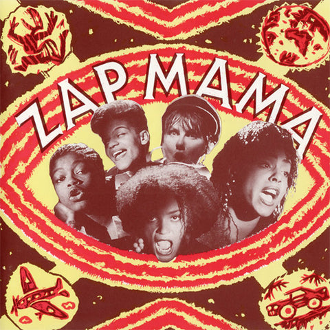 Zap Mama Zap Mama LP 876623008064 Worldwide Shipping