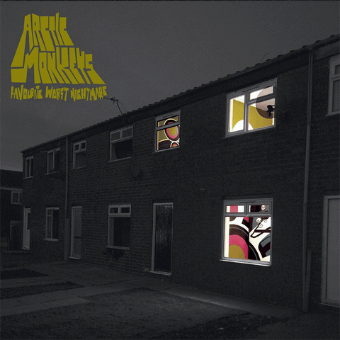 Arctic Monkeys Favourite Worst Nightmare LP 5034202018810