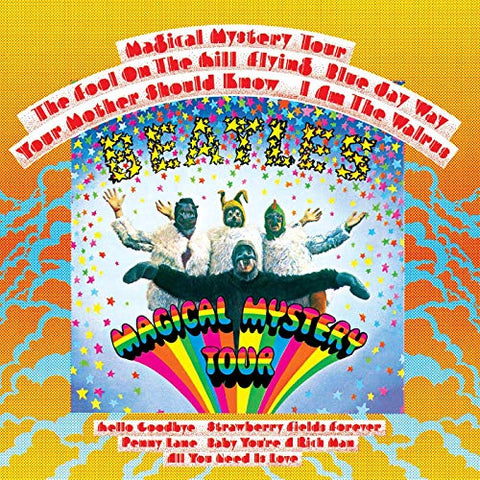 The Beatles Magical Mystery Tour CD 094638246527 Worldwide