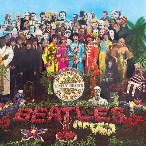 The Beatles Sgt. Pepper's Lonely Hearts Club Band LP