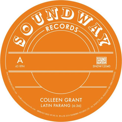 Colleen Grant Latin Parang 12 5060571360939 Worldwide