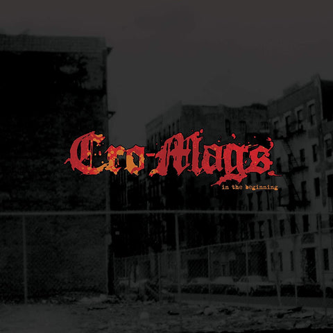 Cro-Mags In The Beginning 0727361499112 Worldwide Shipping