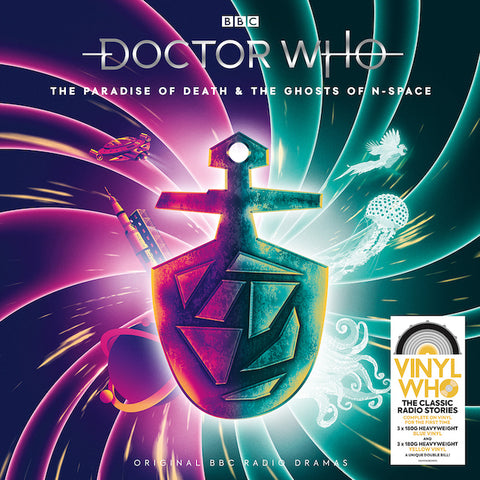Doctor Who The Paradise Of Death & The Ghosts Of N-Space