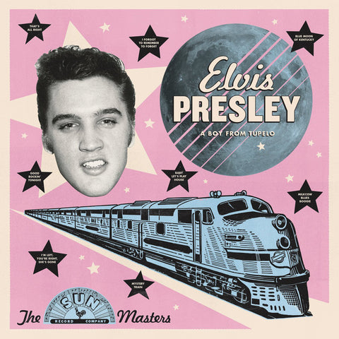 Elvis Presley A Boy From Tupelo: The Sun Masters LP