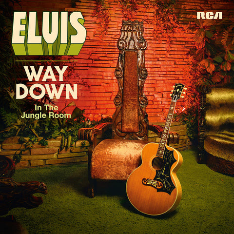 Elvis Presley Way Down In The Jungle Room LP 889853181117