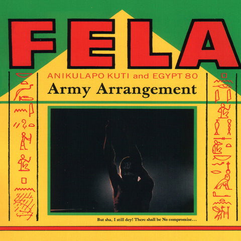 Fela Kuti Army Arrangement LP 0720841205418 Worldwide
