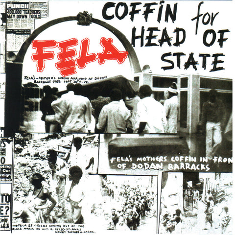 Fela Kuti Coffin for Head of State LP 0720841204916