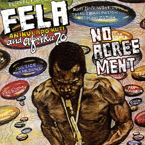 Fela Kuti and Afrika 70 No Agreement LP 0720841204015